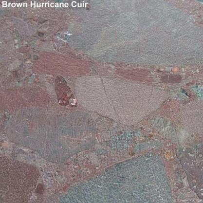 01 – Brown hurricane cuir