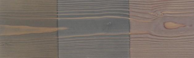 6 – Verni métalisé sur bois brossé éclaté